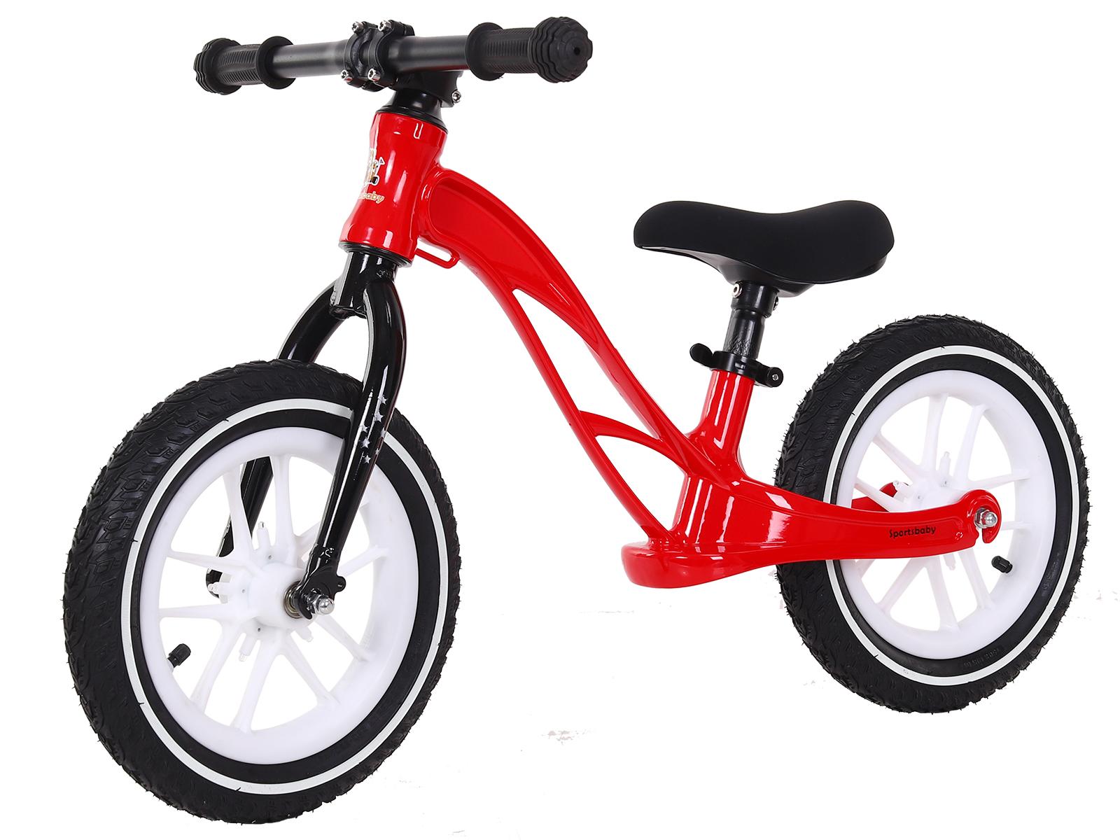 Купить Беговел Sportsbaby Step&Go MS-345 цв. красный, Беговелы
