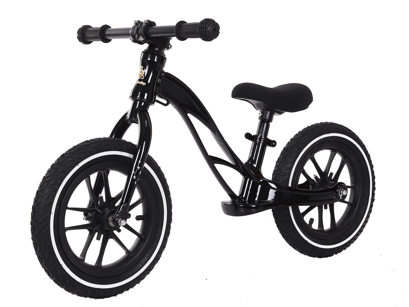 Купить Беговел Sportsbaby Step&Go MS-345 цв. черный, Беговелы