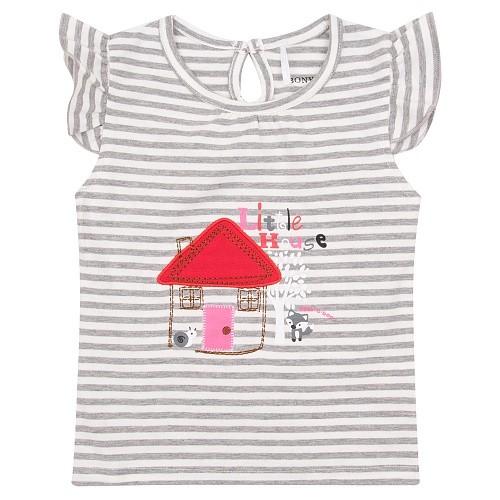 Костюм детский Bony Kids, цв. розовый; серый р.98 SS20WN08