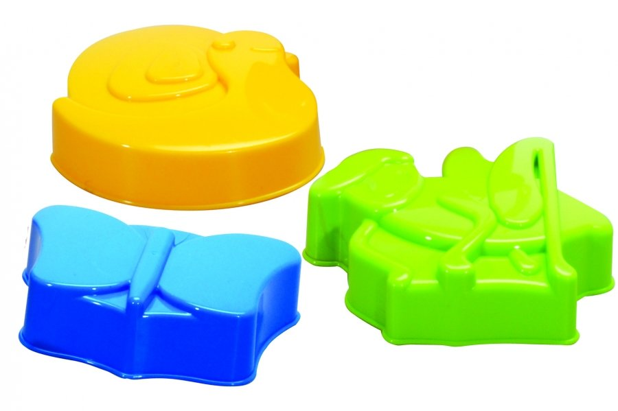 Gowi Набор формочек - Животные 3 предмета.