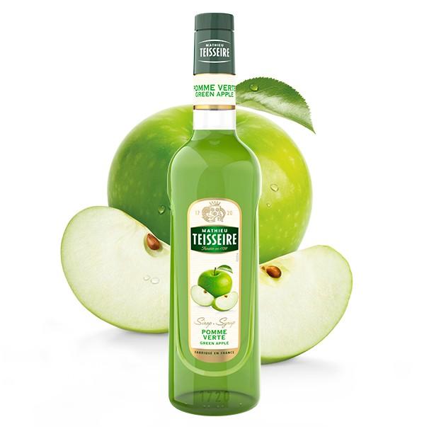 Сироп Mathieu Teisseire зеленое яблоко 0.7 л