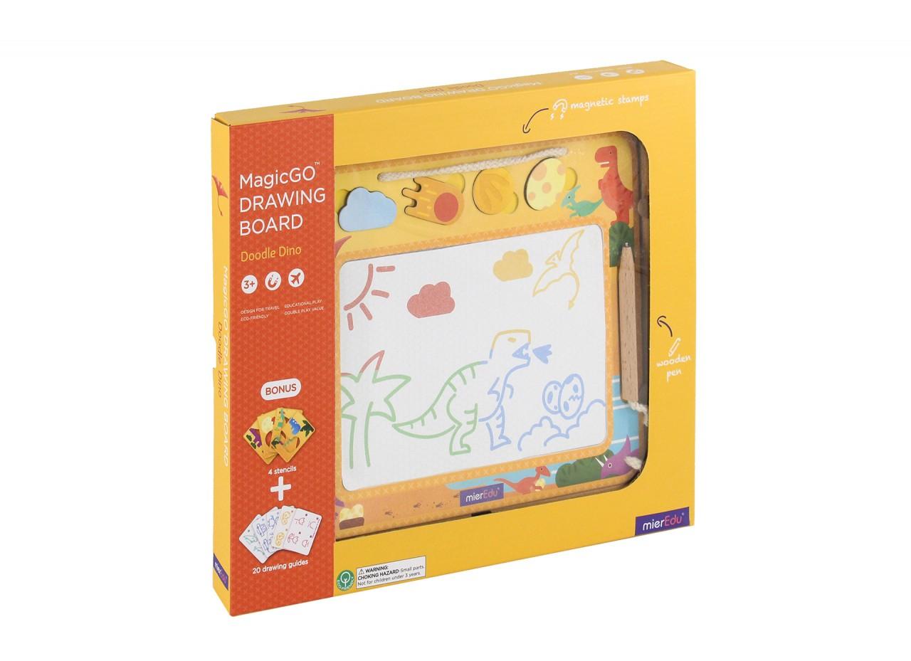 Купить Магнитная доска Mieredu Динозавры, 205355-MP, Доска для рисования