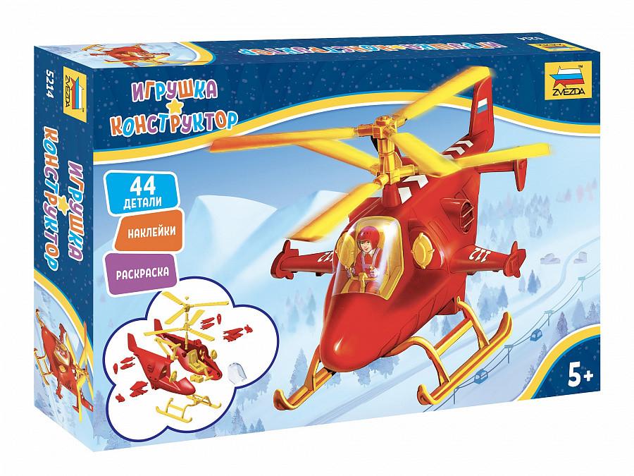 Купить Сборная модель ZVEZDA 5214 Спасательный вертолет,