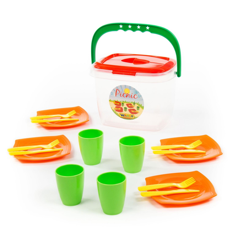 Полесье Набор детской посуды Алиса для пикника
