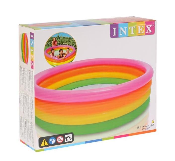 Купить Бассейн надувной Intex 5644NP, 168x46 см, Детские бассейны