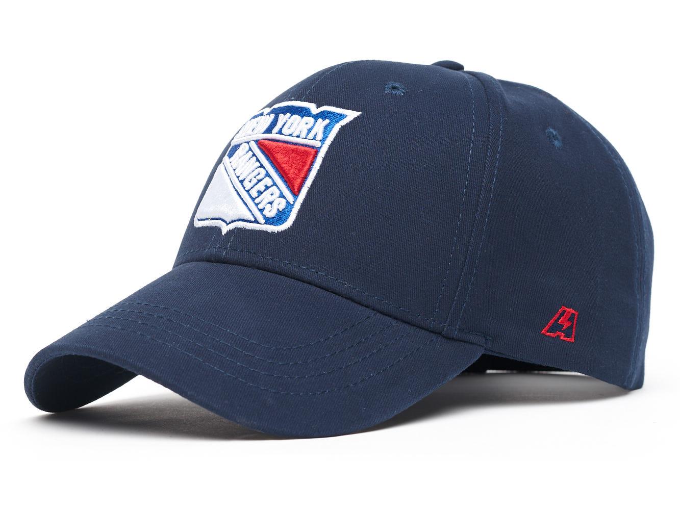 Бейсболка Atributika&Club NHL New York Rangers синяя