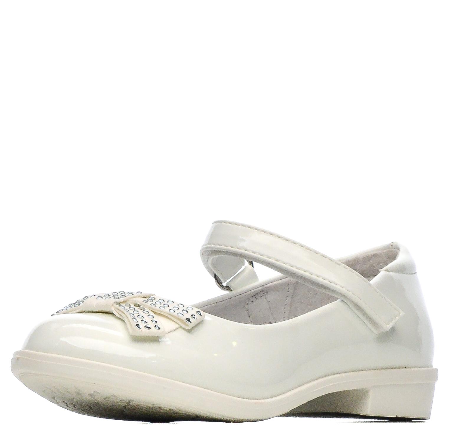 Купить 215-92GO-004DK, Туфли для девочек ZENDEN, цв. белый, р-р 32,