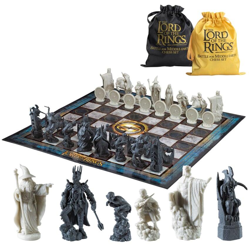 Шахматы The Noble Collection Властелин колец Битва