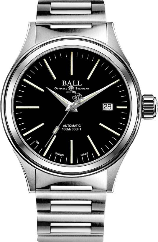 Наручные часы мужские BALL NM2098C-S20J-BK