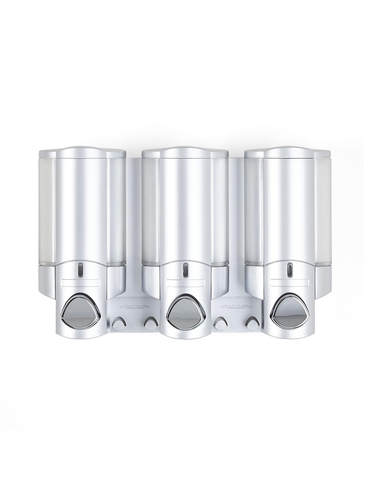 Диспенсер для жидкого мыла AVIVA трехкамерный 325мл