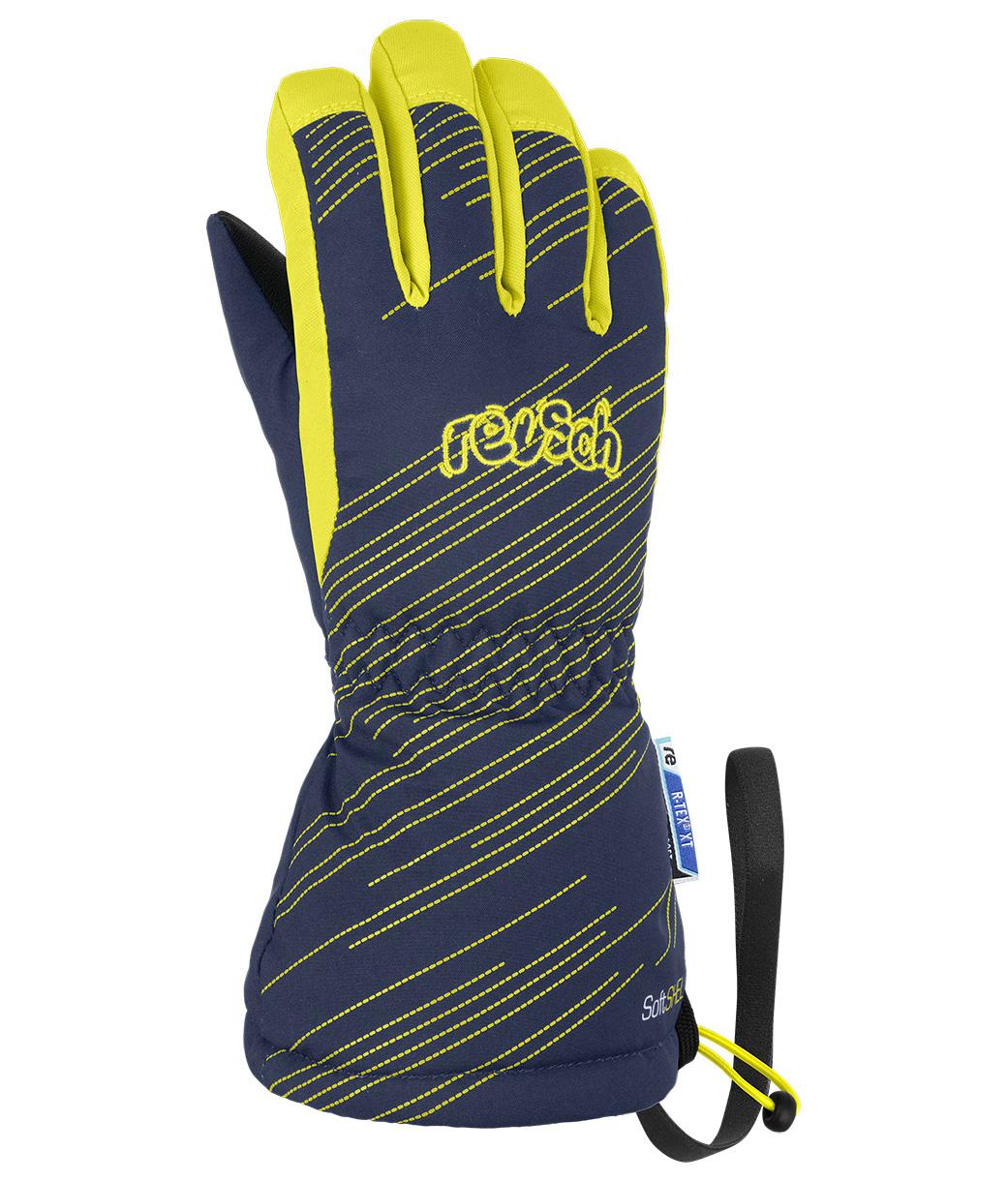 Перчатки Горнолыжные Reusch 2020-21 Maxi R-Tex Xt Dress Blue/Lime (Inch (Дюйм):Iv)