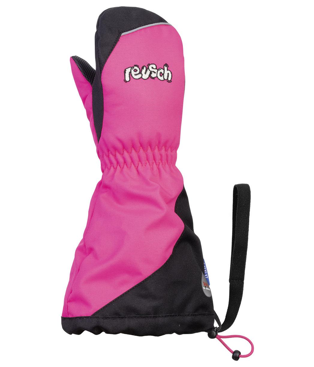 Варежки Reusch 2020-21 Walter R-Tex® Xt Mitten Pink Glo/Black (Inch (Дюйм):Iv)