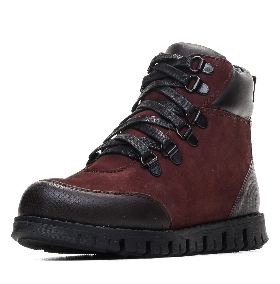 Купить 579-91GO-010NN, Ботинки для девочек ZENDEN, цв. бордовый, р-р 34,