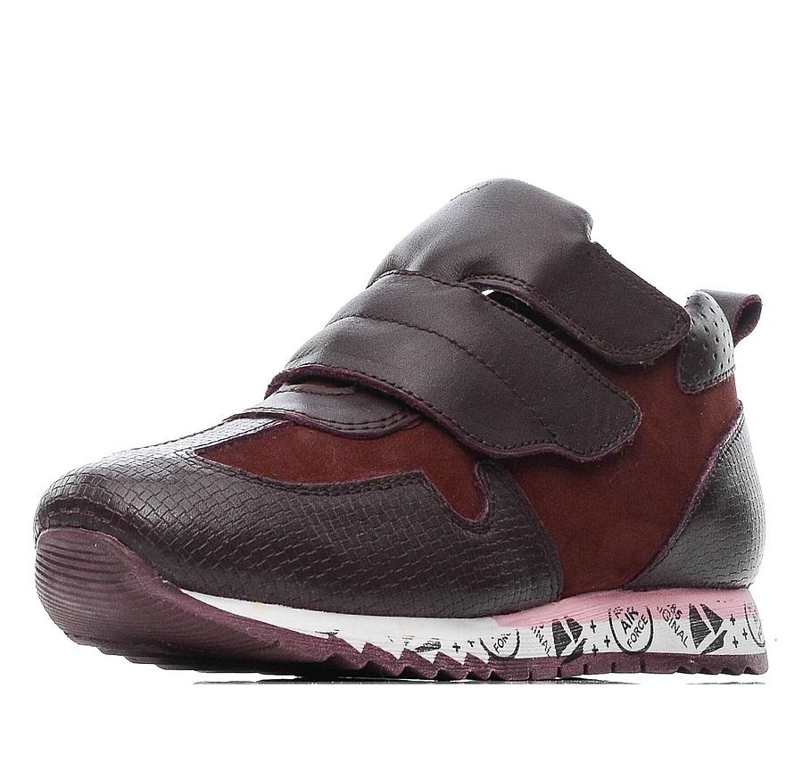 Купить 579-91GO-004KK, Ботинки для девочек ZENDEN, цв. бордовый, р-р 29,