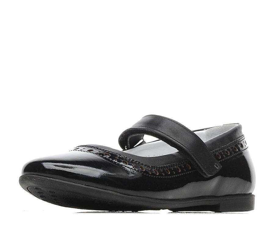Купить 579-91GO-002DK, Туфли для девочек ZENDEN, цв. черный, р-р 34,