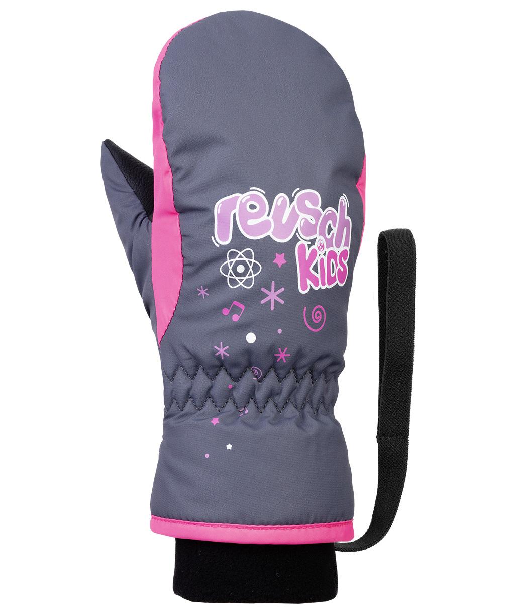 Варежки Reusch 2020-21 Kids Mitten Ombre Blue/Knockout Pink (Inch (Дюйм):Iv)