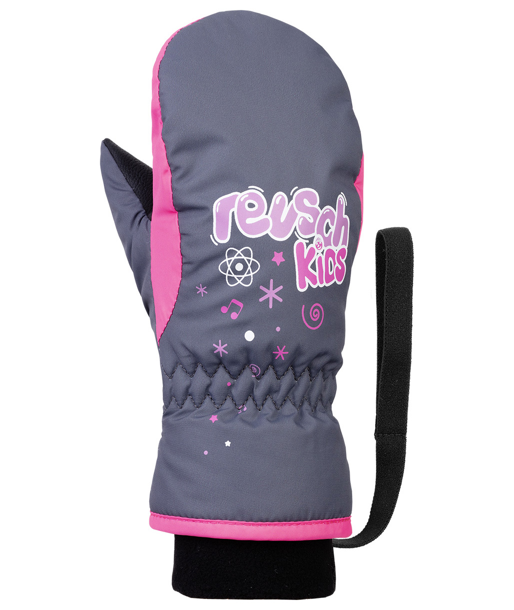 Варежки Reusch 2020-21 Kids Mitten Ombre Blue/Knockout Pink (Inch (Дюйм):I)
