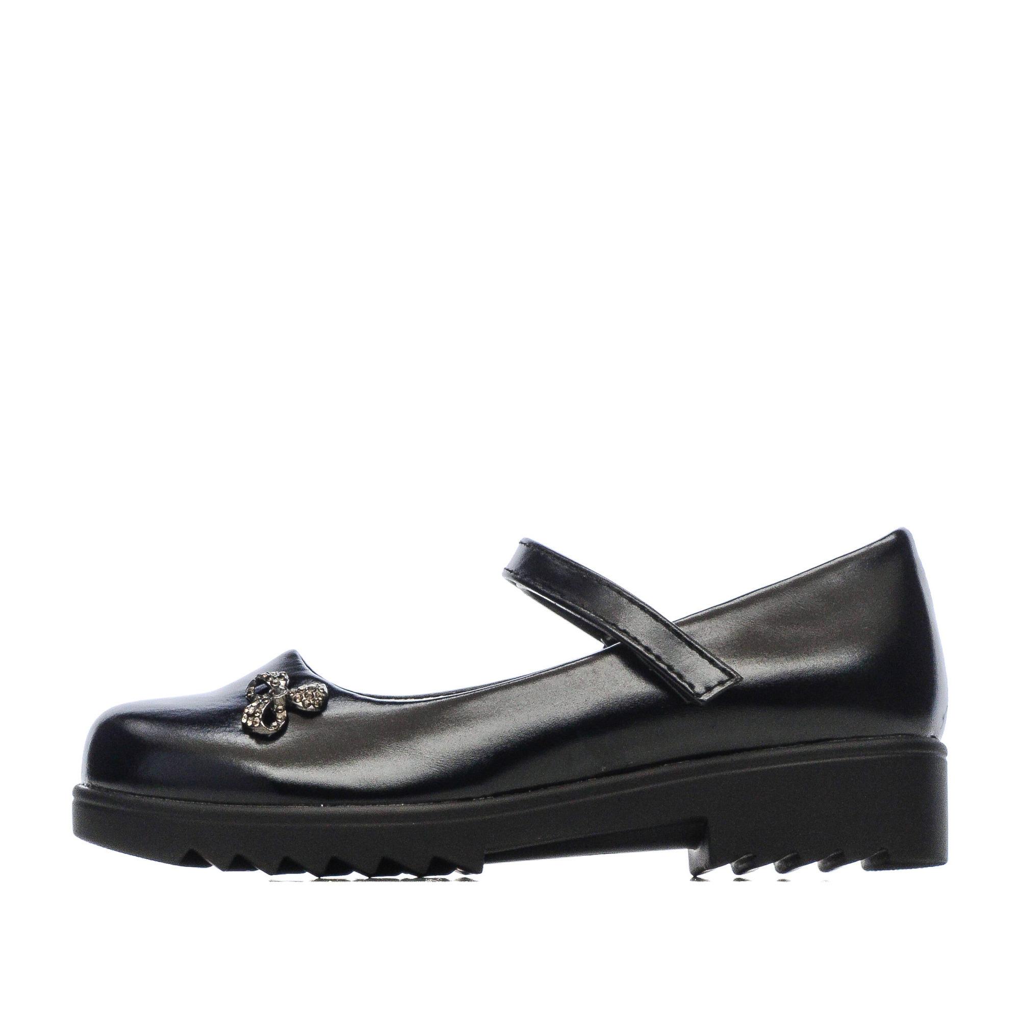 Купить 215-82GO-004SK, Туфли для девочек ZENDEN, цв. черный, р-р 32,