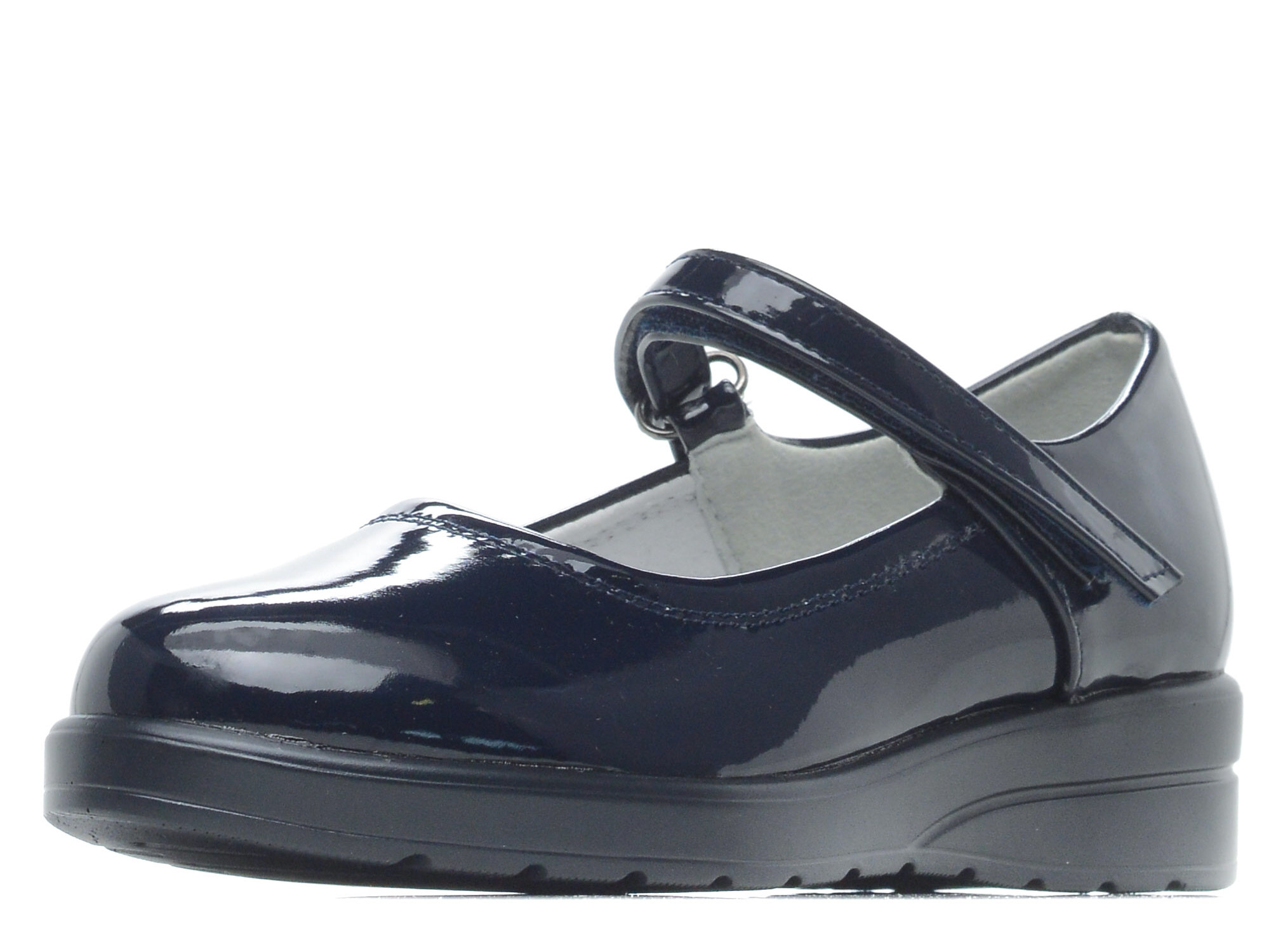Купить 215-82GO-002DK, Туфли для девочек ZENDEN, цв. синий, р-р 32,