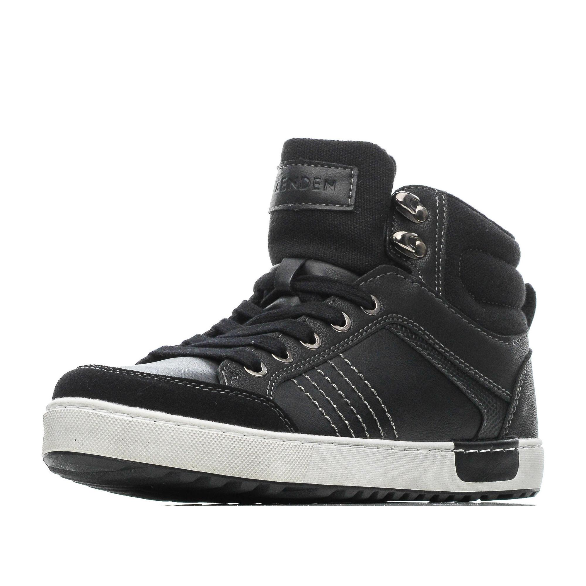 Купить 189-82BO-050SR, Ботинки для мальчиков ZENDEN, цв. черный, р-р 38,