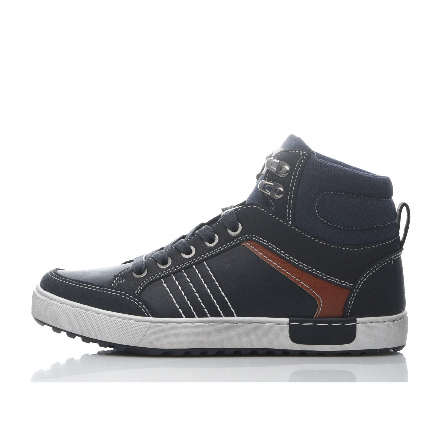 Купить 189-82BO-049SR, Ботинки для мальчиков ZENDEN, цв. синий, р-р 38,