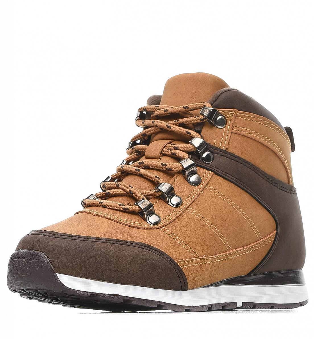 Купить 189-82BO-038GR, Ботинки для мальчиков ZENDEN, цв. оранжевый, р-р 33,