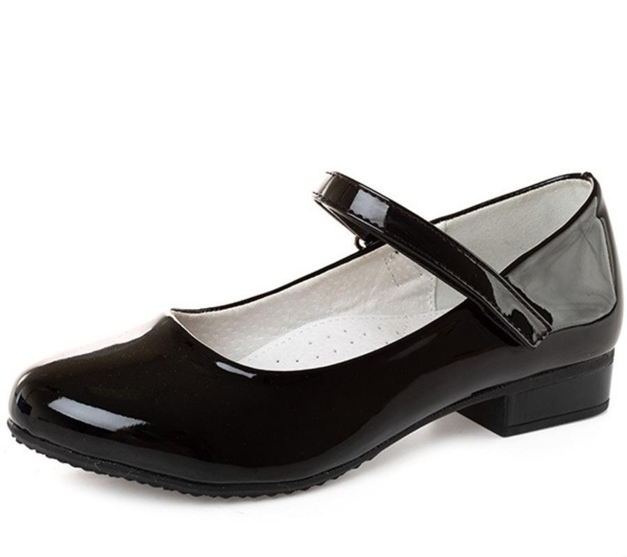 Купить 215-28GL-006DK, Туфли для девочек ZENDEN, цв. черный, р-р 32,