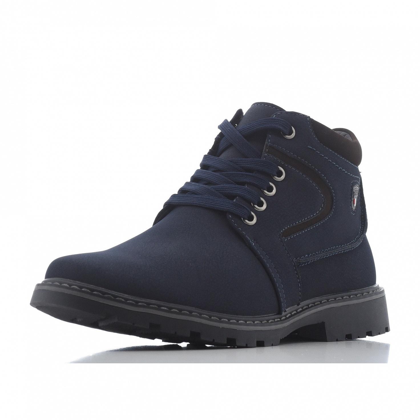 Купить 98-28BL-012SN, Ботинки для мальчиков ZENDEN, цв. синий, р-р 39,
