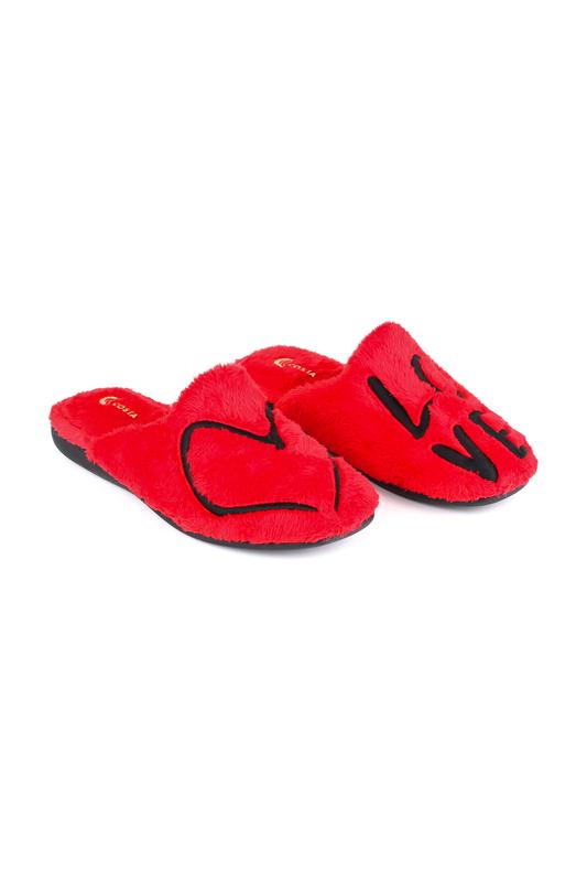 Домашние тапочки женские COSTA T1087 красные 40 RU
