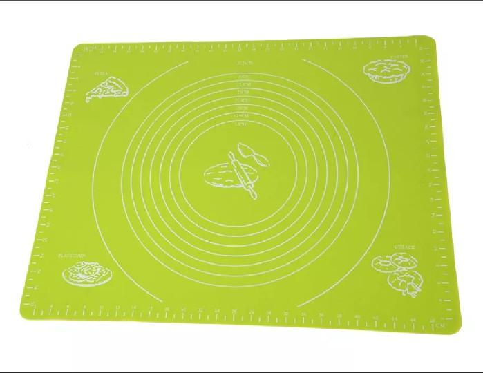 Силиконовый коврик для раскатывания теста, 70х50