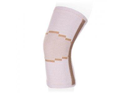 Купить Бандаж на коленный сустав эластичный, 2 ребра жесткости KS-E02 L, Экотен