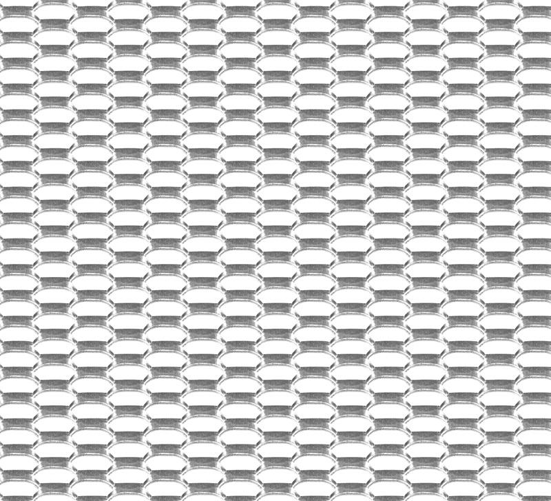 Сетка защитная 1000x250 мм. 20x6 мм. соты,