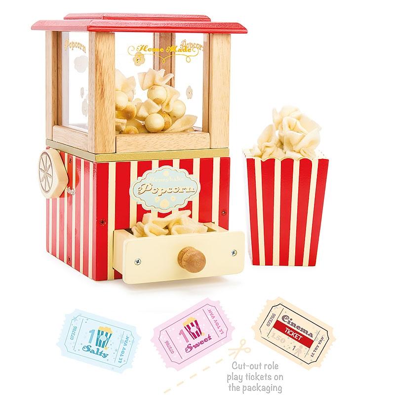 Деревянный игровой набор Le Toy Van Машина для попкорна TV318