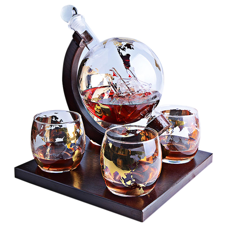 Подарочный набор для виски, декантер Корабль