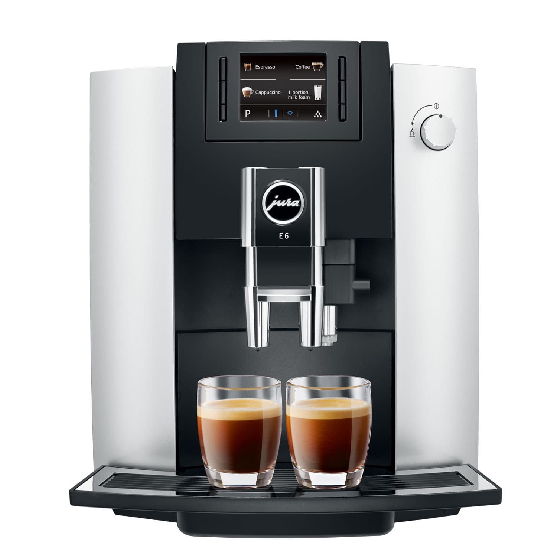 Кофемашина автоматическая Jura E6 Platin