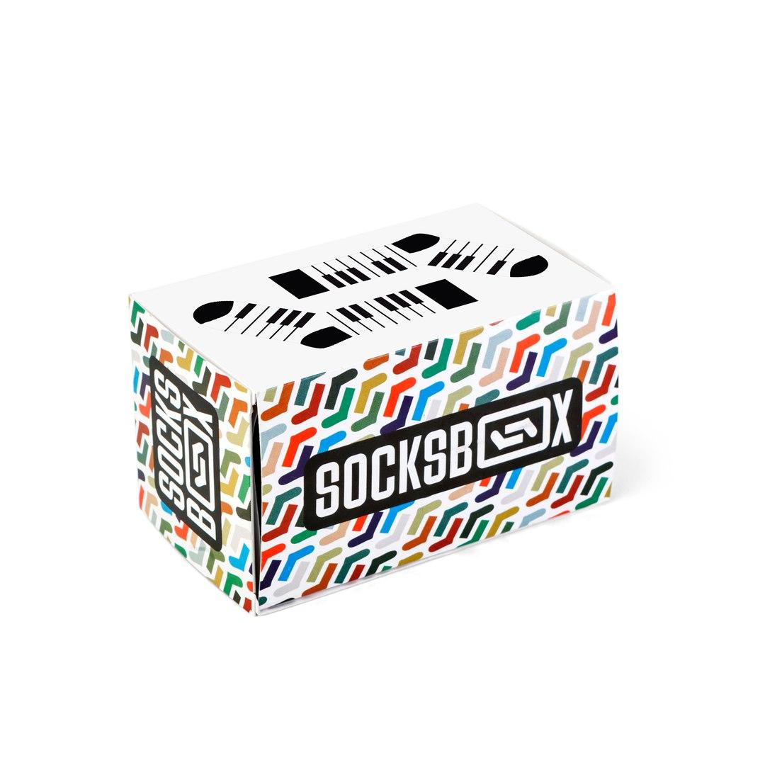 Носки унисекс Socks Box СоксБокс Пиано разноцветные 36-39