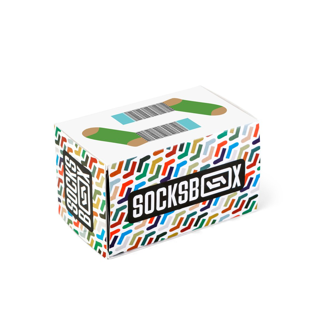Носки унисекс Socks Box СоксБокс Пиза разноцветные 36-39