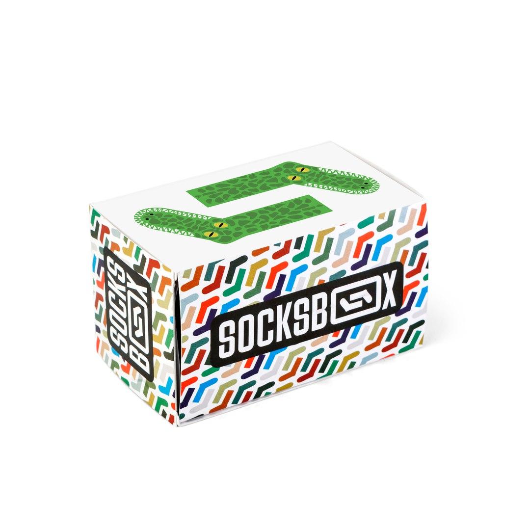 Носки унисекс Socks Box СоксБокс Крокс разноцветные 36-39