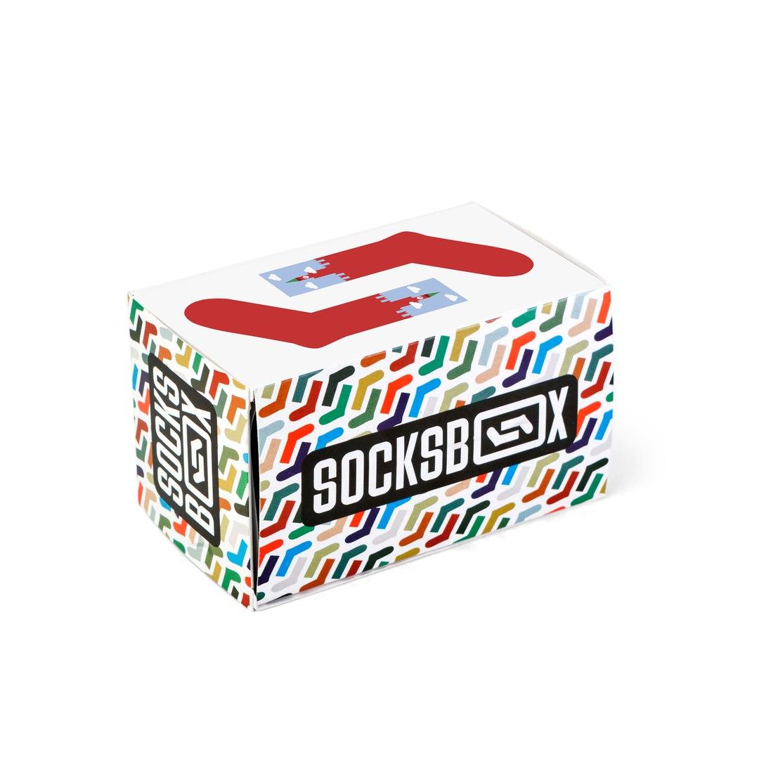 Носки унисекс Socks Box СоксБокс Кремлин разноцветные 36-39
