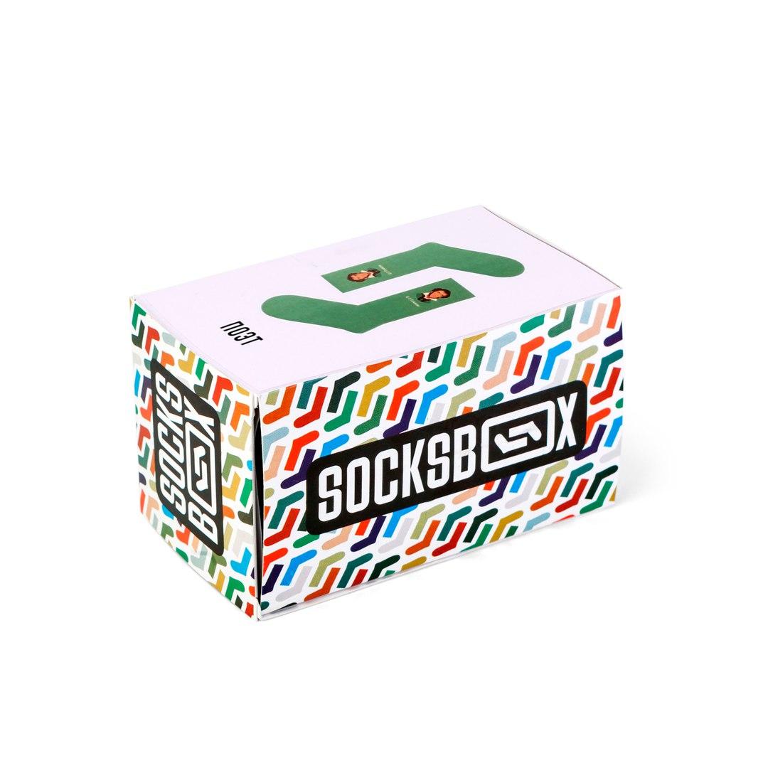 Носки унисекс Socks Box СоксБокс Пушкин разноцветные 36-39