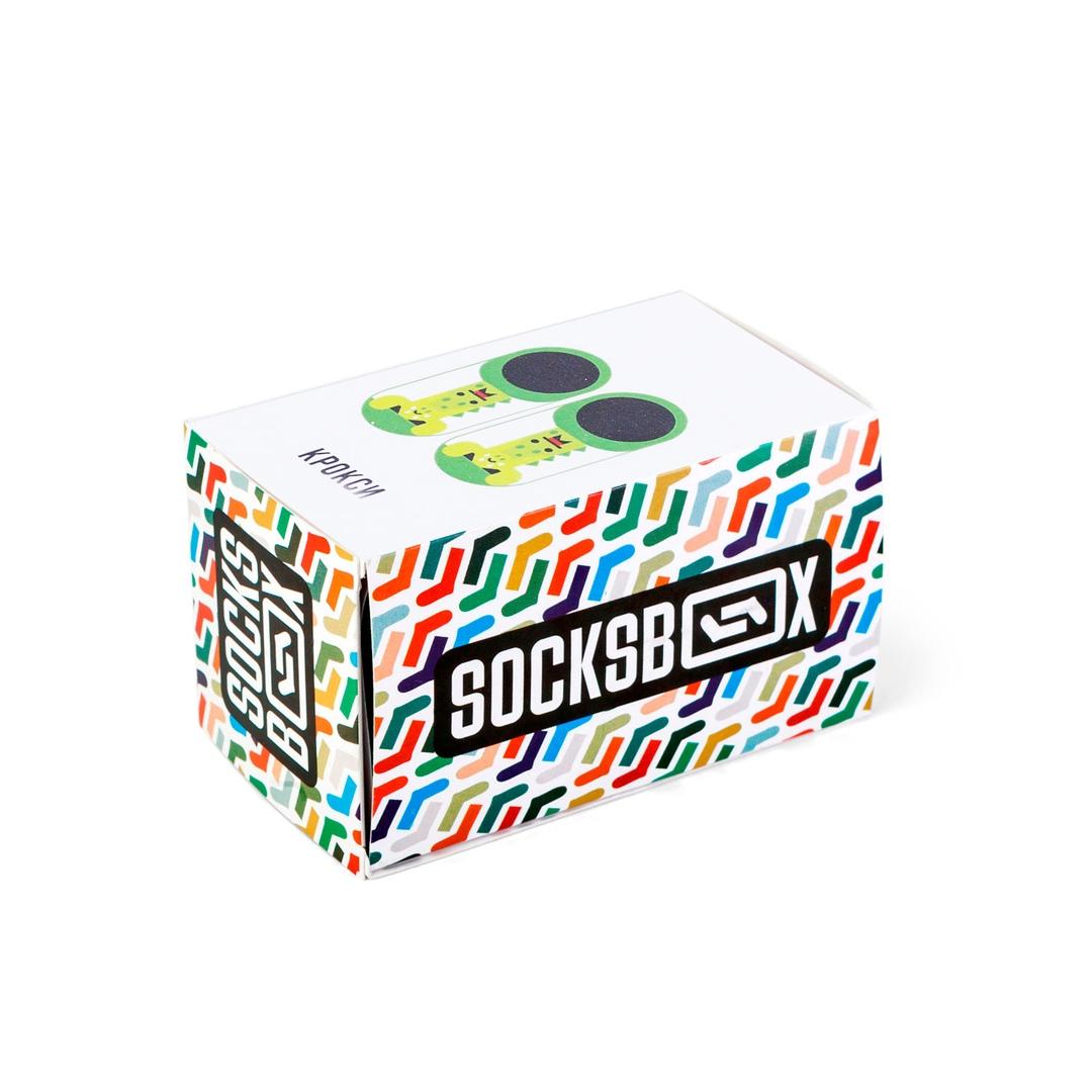Носки унисекс Socks Box Крокси разноцветные 36-39