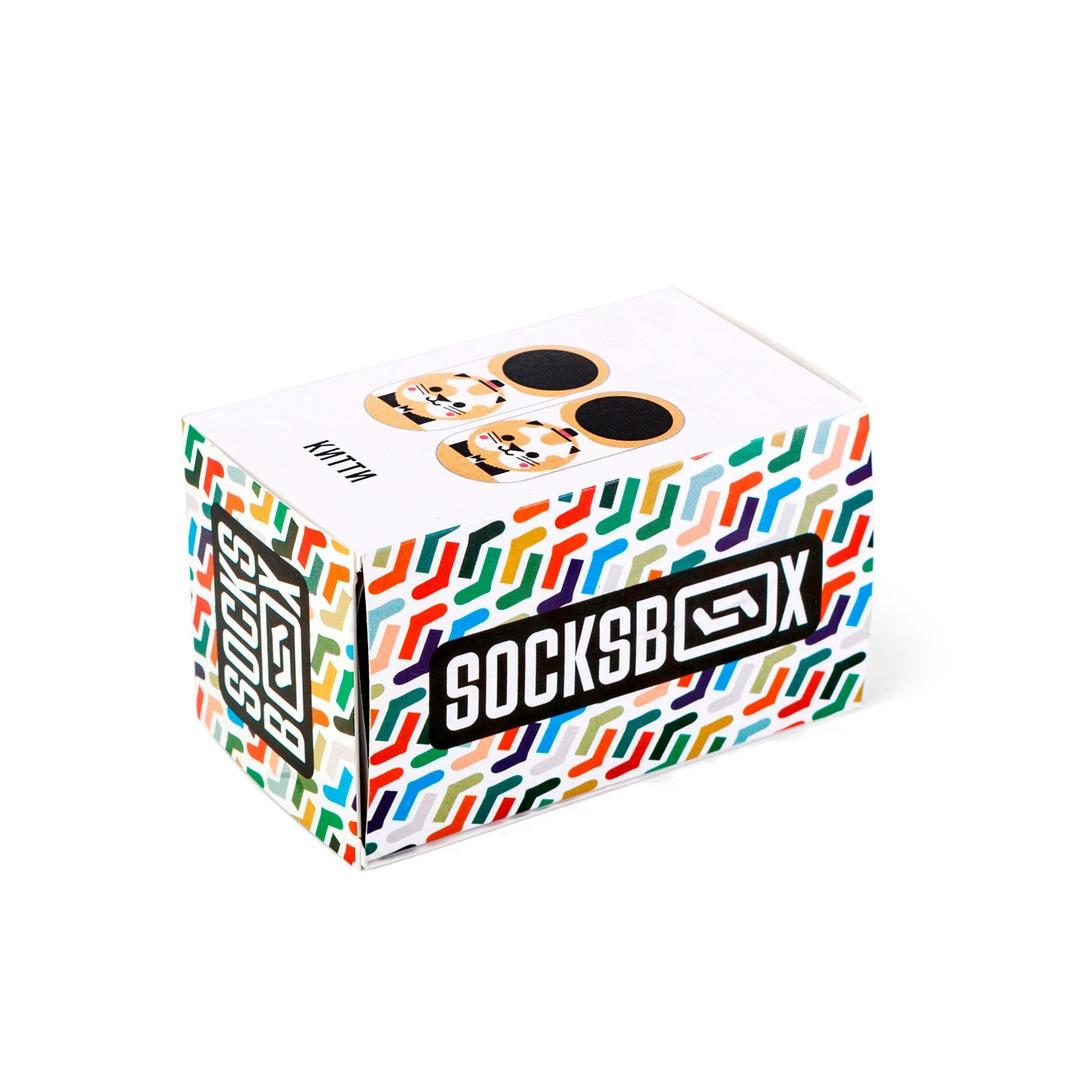 Носки унисекс Socks Box Китти разноцветные 36-39