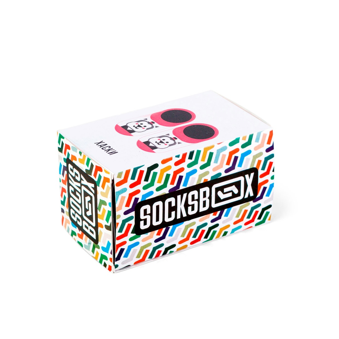 Носки унисекс Socks Box Хаски разноцветные 36-39