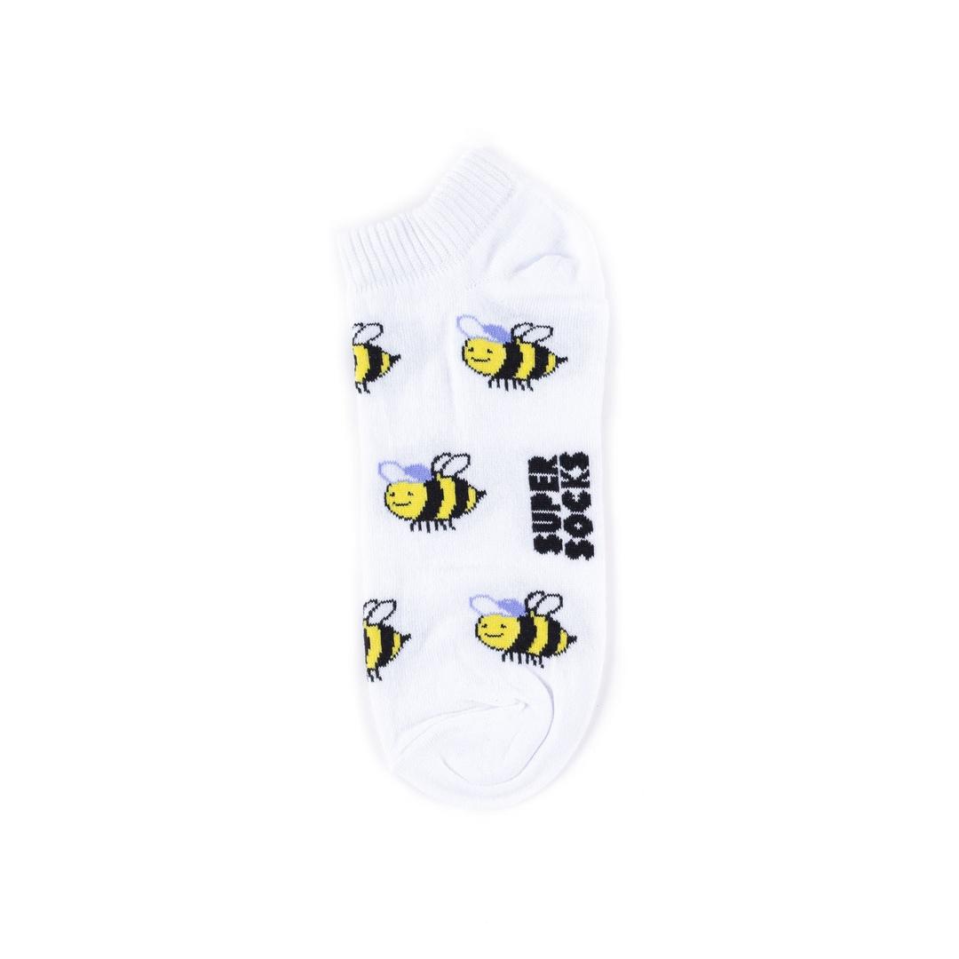 Носки унисекс Super Socks Пчёлки разноцветные 40-45
