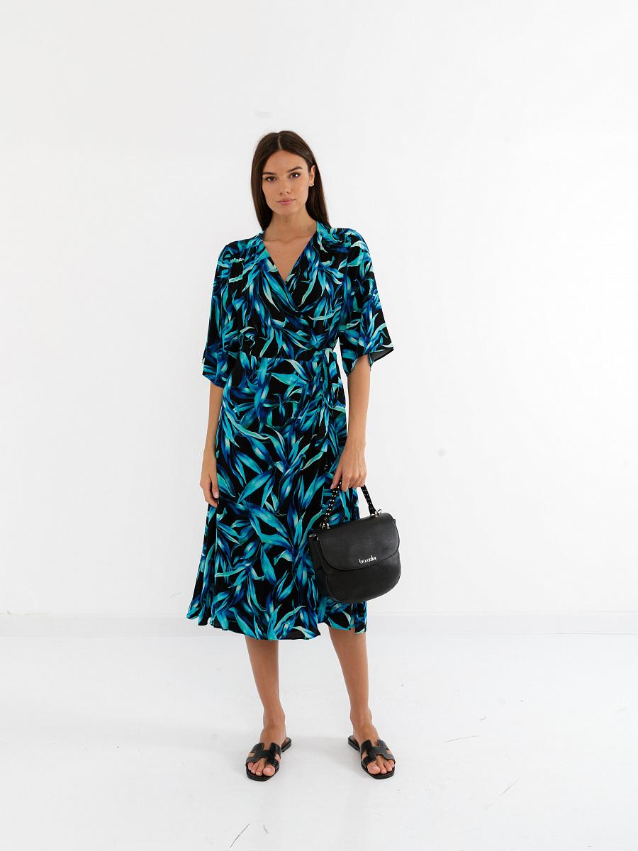 Платье женское Glenfield D12AB931P-31U черное 50 RU