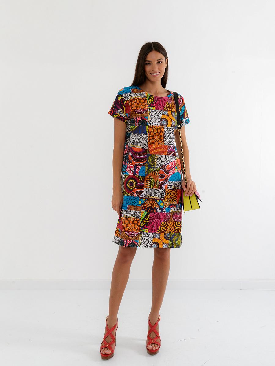 Платье женское Braccialini D12AB121W-01U зеленое 52 RU