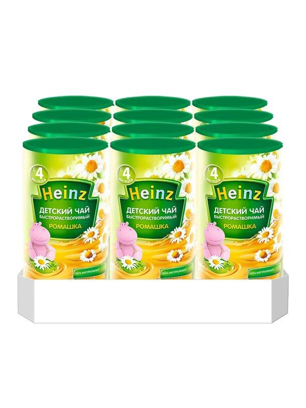 Чай гранулированный детский Heinz ромашка, 4 мес.,