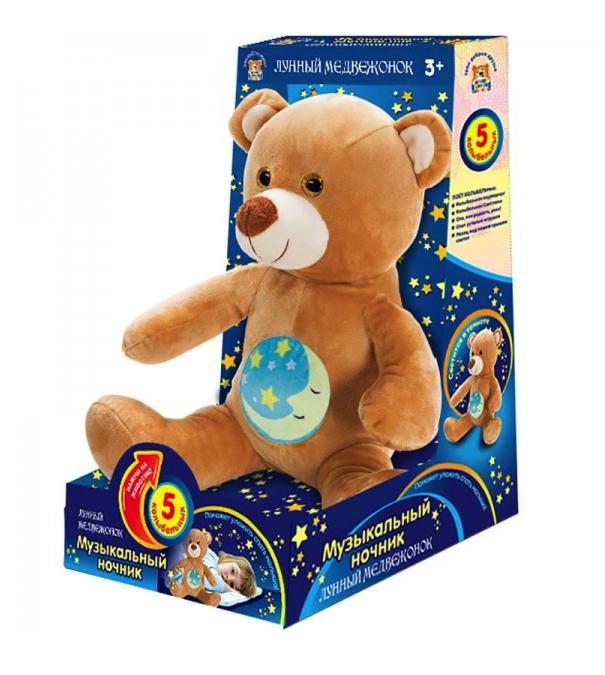 Мягкая игрушка Мульти-Пульти Лунный медвежонок, 25 см