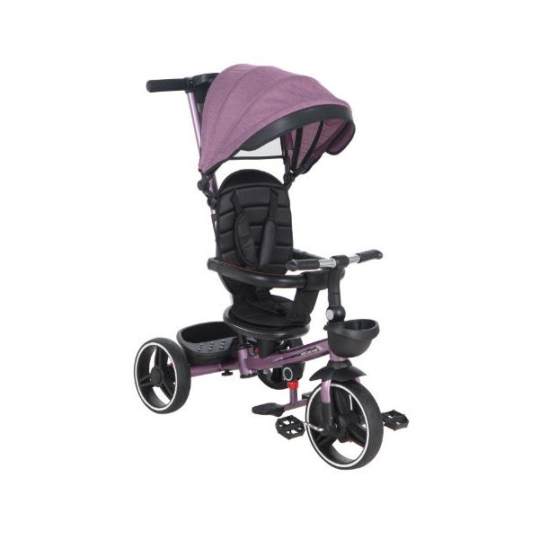 Детский трёхколёсный велосипед McCan M-10, цвет: фиолетовый