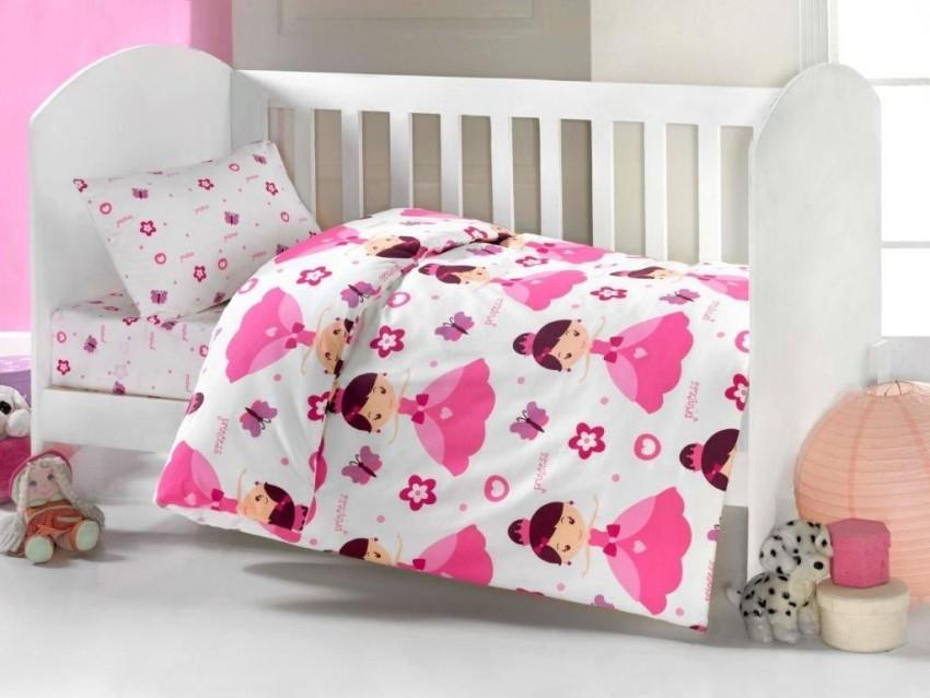 Купить Комплект постельного белья Kidboo ТМ UPS PUPS серия Принцесса, цвет стандарт, 6 предметов,